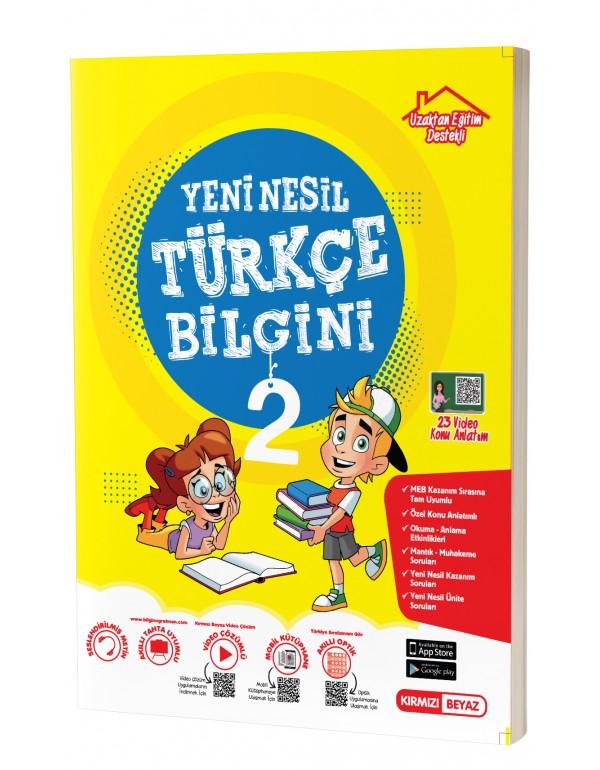 Kırmızı Beyaz 2.Sınıf Yeni Nesil Türkçe Bil...