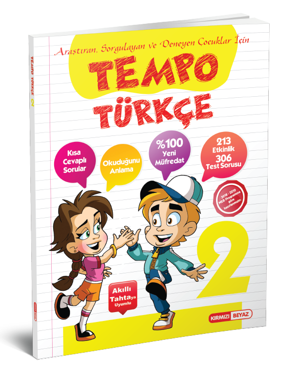 Kırmızı Beyaz Tempo Türkçe 2.Sınıf