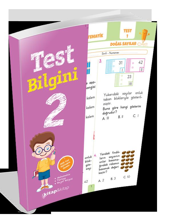 Kırmızı Beyaz Test Bilgini 2.Sınıf