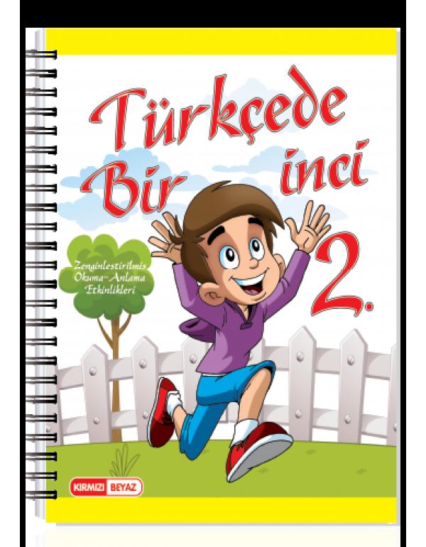 Kırmızı Beyaz Türkçede Bir İnci 2.Sınıf