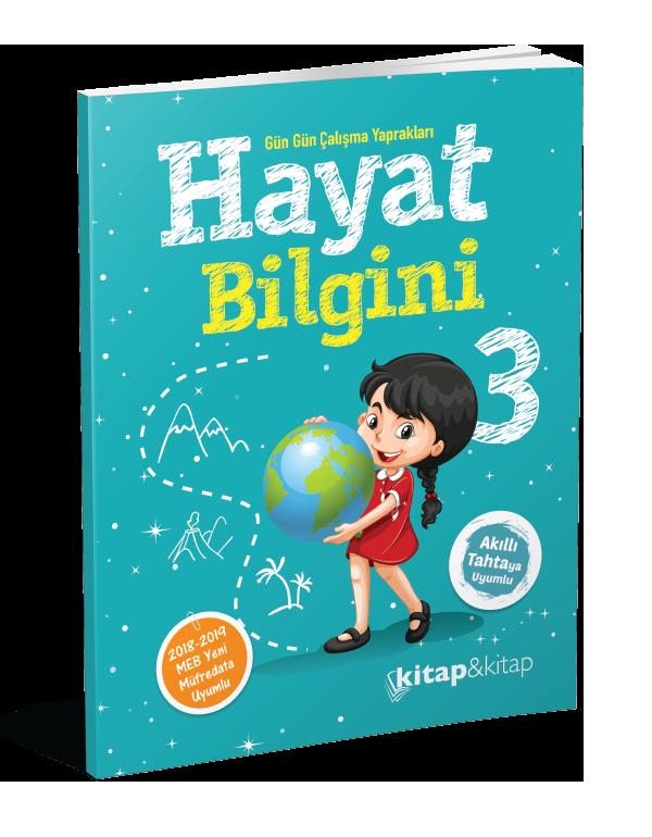Hayat Bilgini 3.Sınıf (Kitap&Kitap)