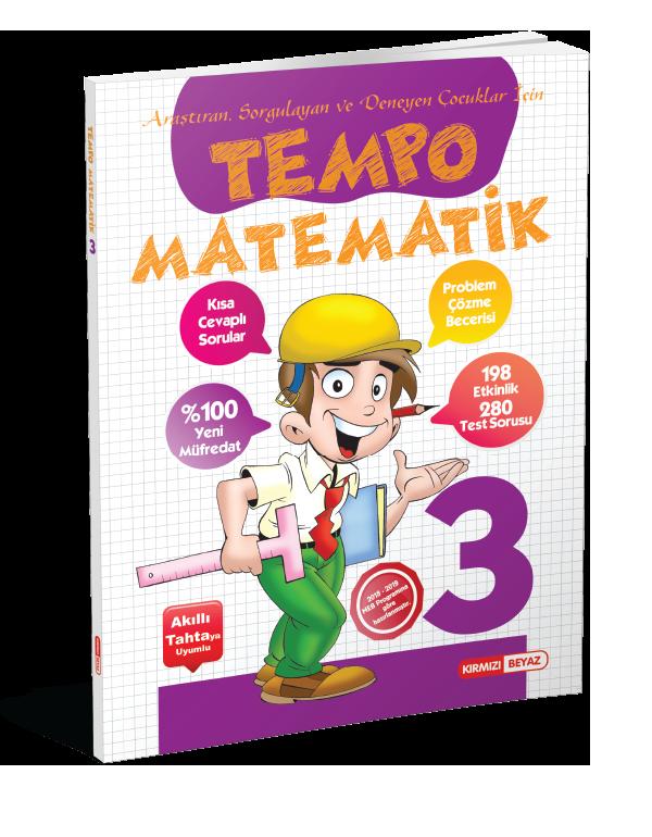 Kırmızı Beyaz Tempo Matematik 3.Sınıf