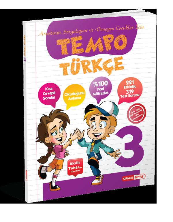 Kırmızı Beyaz Tempo Türkçe 3.Sınıf
