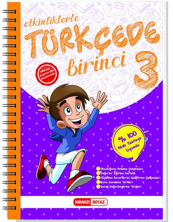 Kırmızı Beyaz Türkçede Bir İnci 3.Sınıf