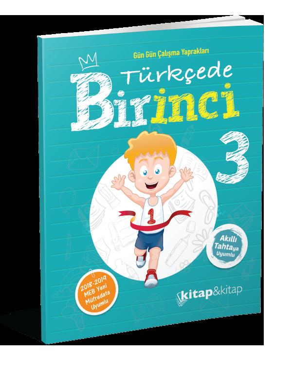Türkçede Bir İnci 3.Sınıf (Kitap&Kitap)