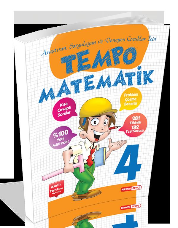Kırmızı Beyaz Tempo Matematik 4.Sınıf