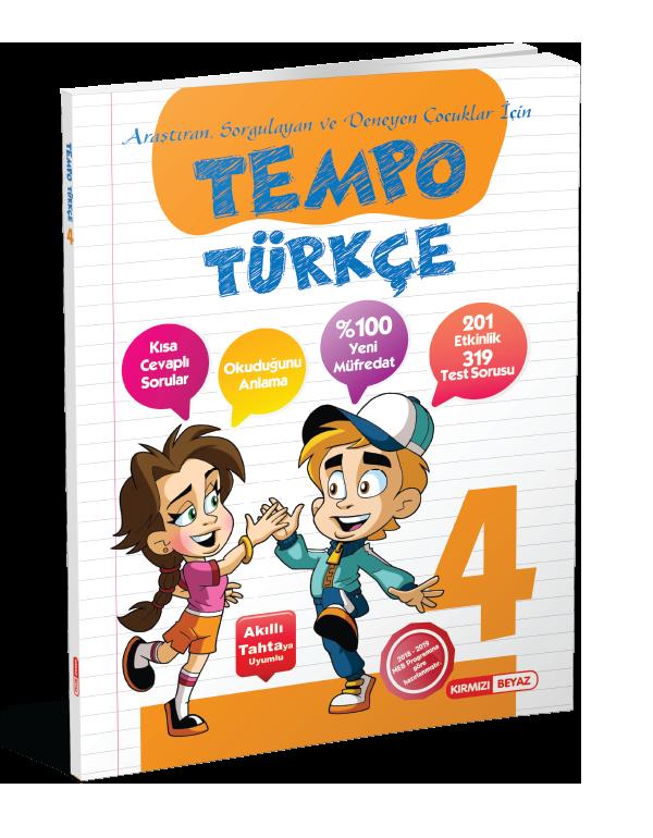 Kırmızı Beyaz Tempo Türkçe 4.Sınıf