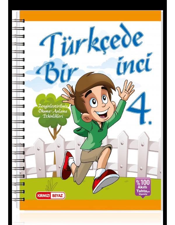 Kırmızı Beyaz Türkçede Bir İnci 4.Sınıf