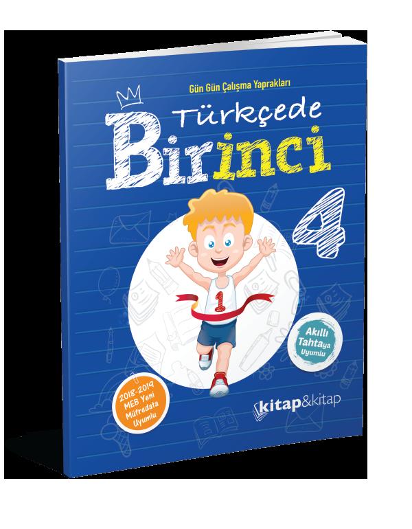 Türkçede Bir İnci 4.Sınıf (Kitap&Kitap)