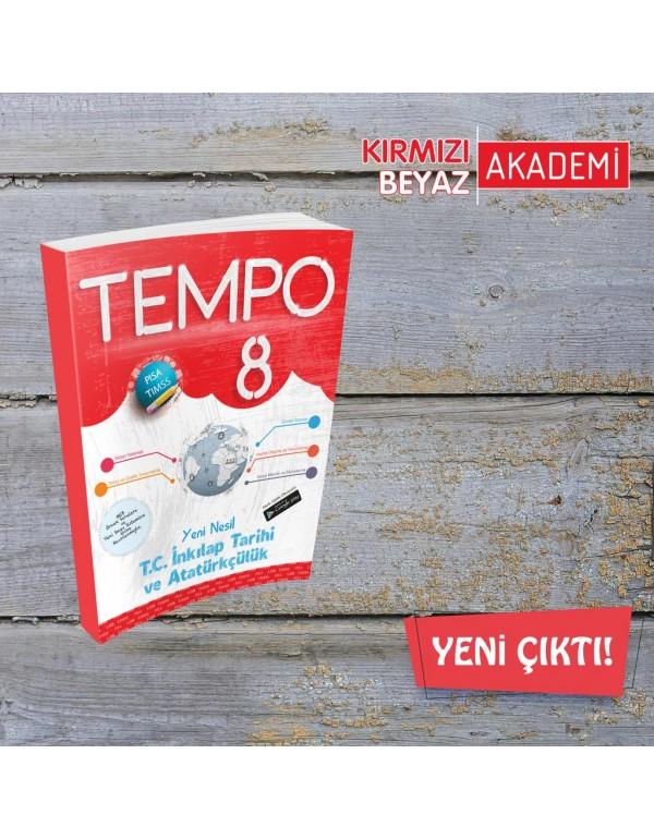 Kırmızı Beyaz Tempo T.C. İnkılap Tarihi ve At...
