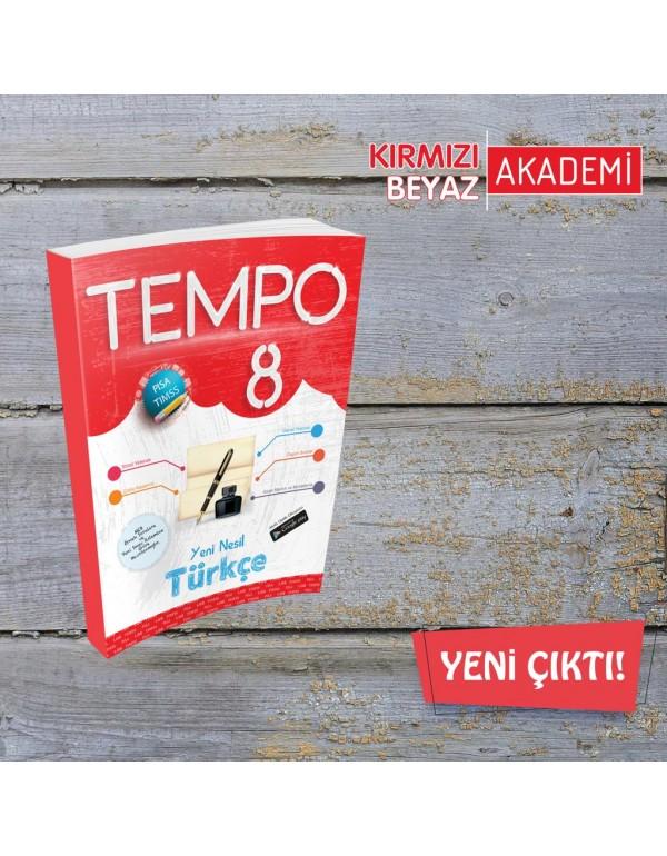 Kırmızı Beyaz Tempo Türkçe 8. Sınıf