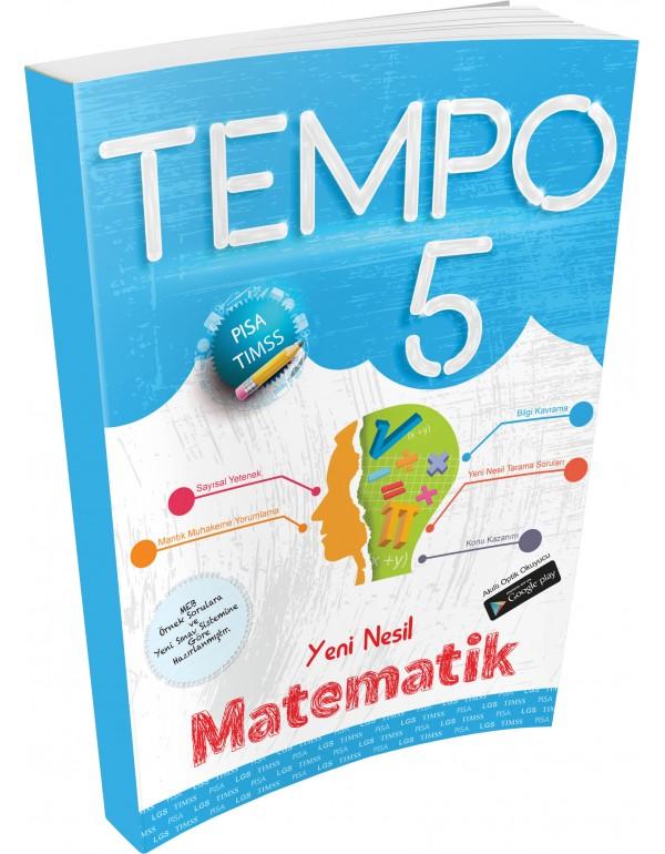 Kırmızı Beyaz Tempo Matematik 5. Sınıf