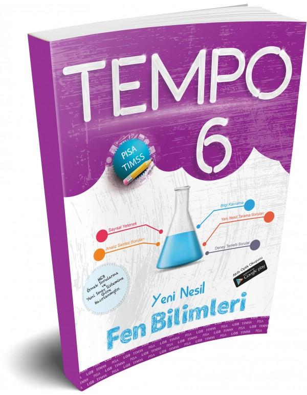 Kırmızı Beyaz Tempo Fen Bilimleri 6. Sınıf