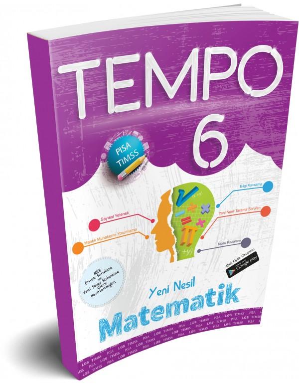 Kırmızı Beyaz Tempo Matematik 6. Sınıf