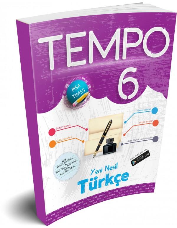 Kırmızı Beyaz Tempo Türkçe 6. Sınıf