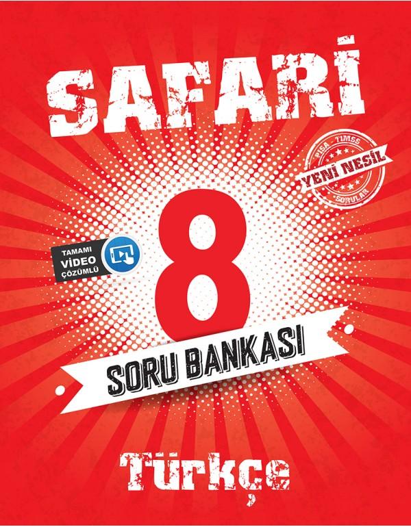 Kırmızı Beyaz Safari 8.Sınıf  Türkçe Soru B...