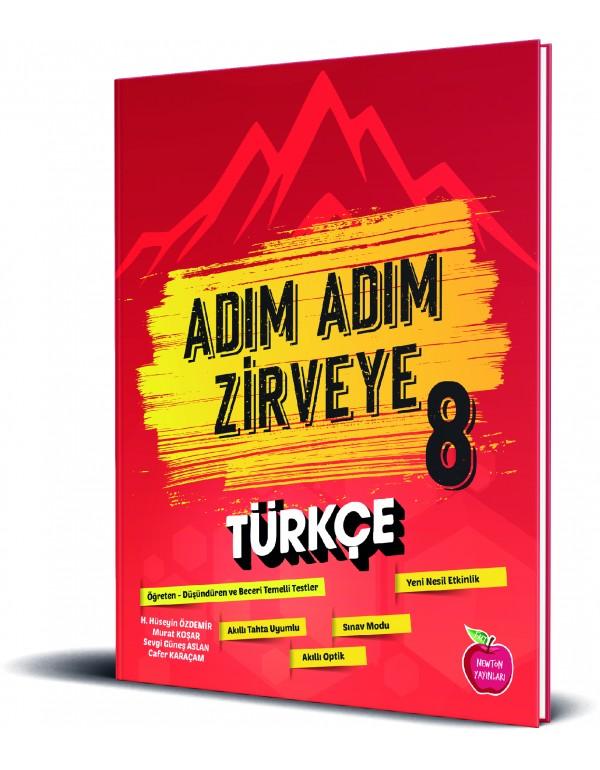 Newton Yayınları 8.Sınıf Adım Adım Zirveye Türkçe Soru Bankası