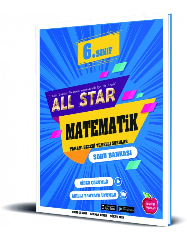 Newton Yayınları 6.Sınıf All Star Matematik So...