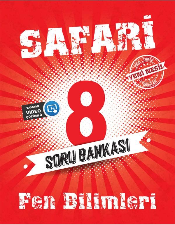 Kırmızı Beyaz Safari 8.Sınıf Fen Bilimleri So...