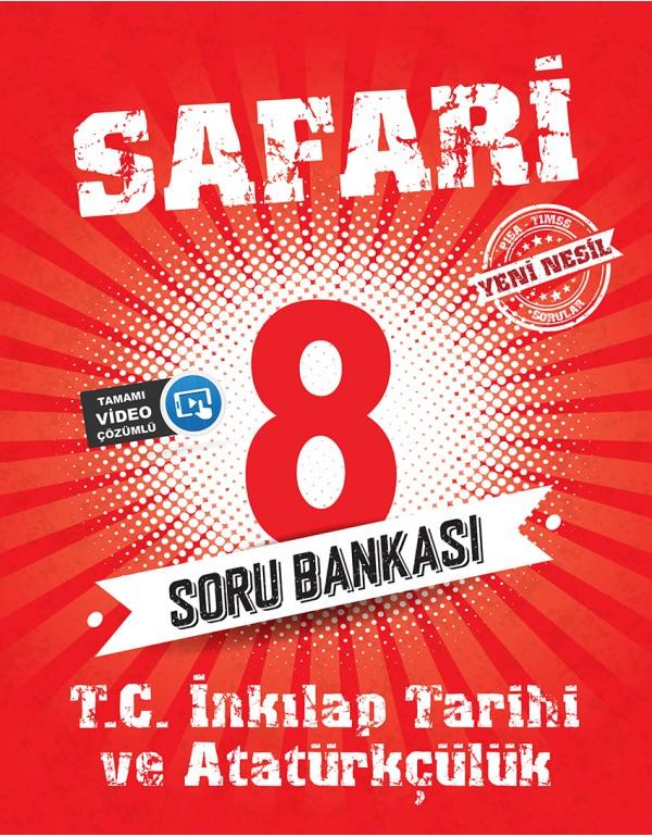 Kırmızı Beyaz Safari 8.Sınıf T.C. İnkılap T...