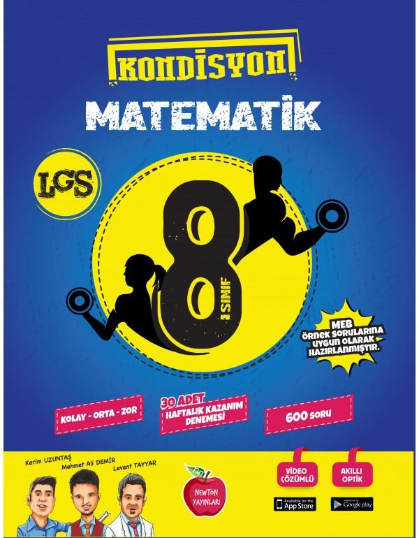 Newton Yayınları 8.Sınıf Kondisyon Matematik 3...