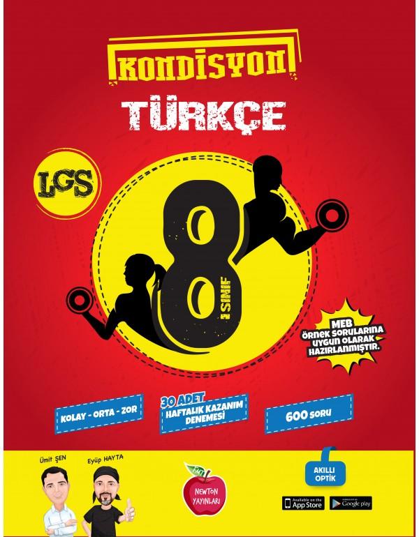 Newton Yayınları 8.Sınıf Kondisyon Türkçe 30...