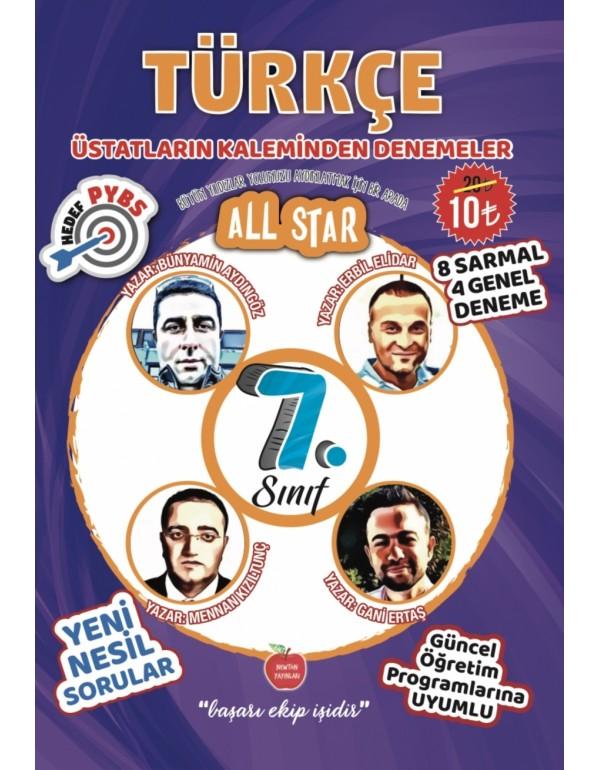 Newton Yayınları 7.Sınıf All Star Türkçe Den...