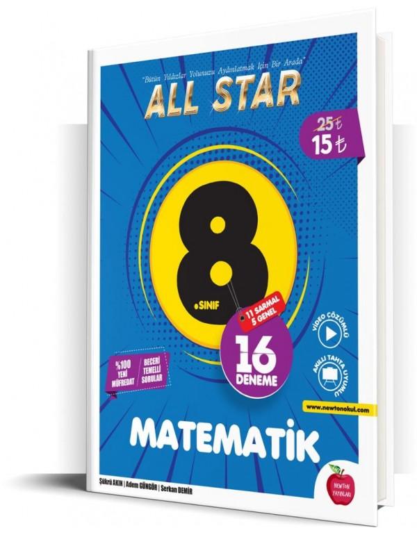 Newton Yayınları 8.Sınıf All Star Matematik Deneme