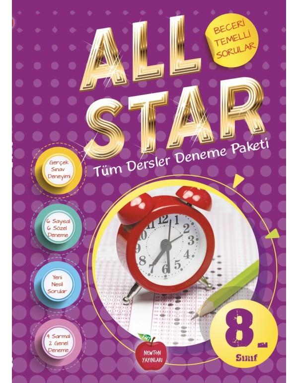 Newton Yayınları 8.Sınıf All Star Tüm Dersler...