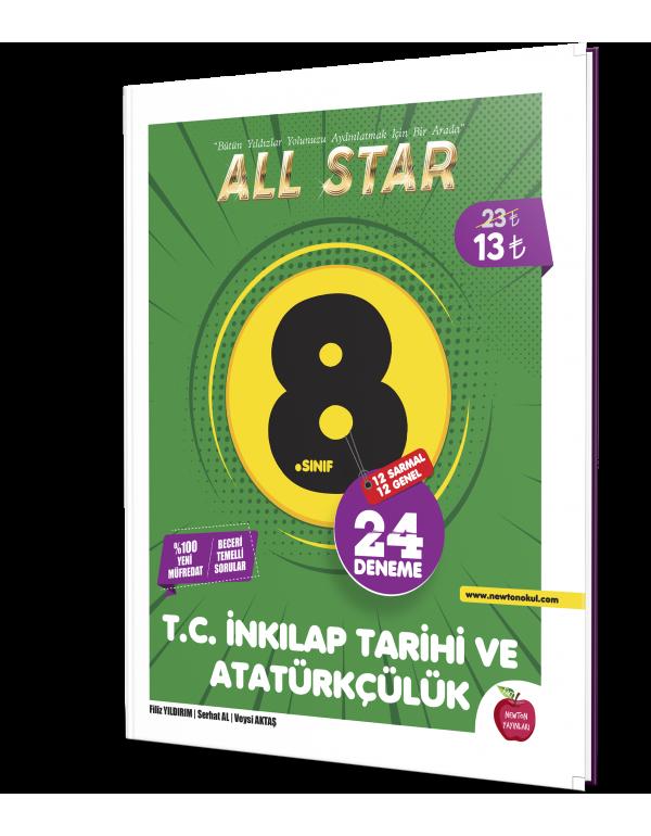 Newton Yayınları 8.Sınıf All Star T.C. İnkıl...