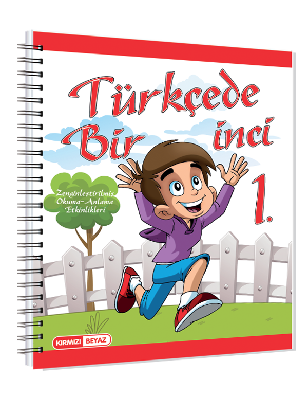 Kırmızı Beyaz Türkçede Bir İnci 1.Sınıf